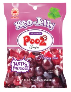 Jelly Candy POOZ grape jelly candy 100 gram