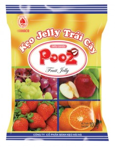 Jelly Candy  POOZ assorted jelly candy 100 gram