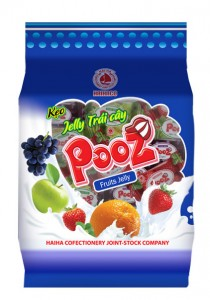 Jelly Candy  POOZ fruit jelly candy 350 gram
