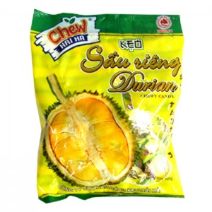 Chew Candy Durian chewy candy 32pcs/ pack – 105g
