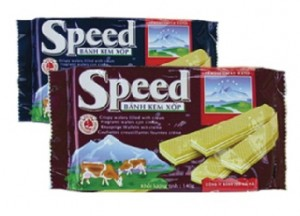 Speed cream wafer 140 gram