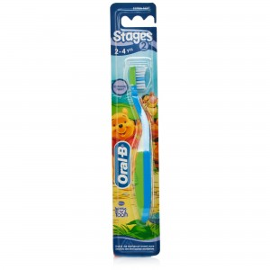 Oral B Stages 2 ( 2year – 4 year) 12pc/stray, 8 stray /case
