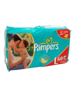 Pampers F&D L 60s