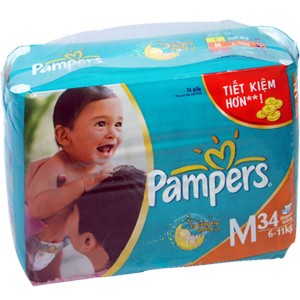 Pampers F&D  M 34s