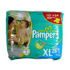 Pampers F&D XL  28s