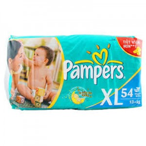 Pampers F&D XL 54s