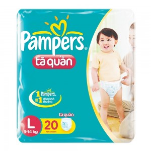 Pampers Pants  L 20*8 vpack