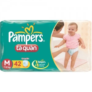 Pampers Pants  M 42*4 vpack