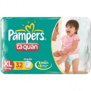 Pampers Pants  XL 32* 6 vpack
