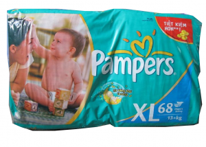Pampers XL68