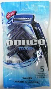 Razor  Dorco TD 708N  5P  (5pcs/ pack, 20pack/box, 16box/case)