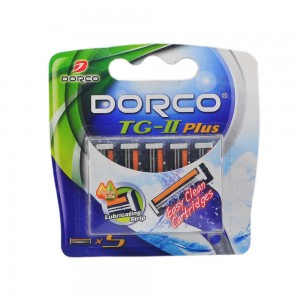 Top Blade Dorco TG-II Plus Cartridge 3B  (3pcs/ pack, 20pack/box, 12box/case)