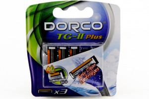 Top Blade Dorco TG – II Plus(Refill)  (5pcs/ pack, 20pack/box, 12box/case)
