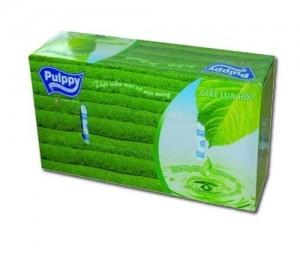 Pulppy Facial Tissue (Tea Aroma) 2 Ply * 100 sheets