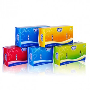 Pulppy Facial Tissue Classic 2 Ply * 180 sheets