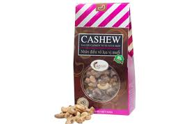 Salted cashew nuts with skin 200g