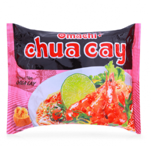 Potato noodles shrimp flavor 75g pack stinging Omachi