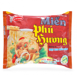 Vermicelli cooked pork taste Phu Huong shoots 57g package