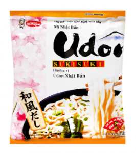 Udon Noodles Japan Vina Acecook 75g package