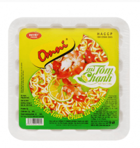 Omni lemon noodles 75g box
