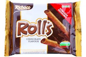 Rolls Chocolate Flavour 50g