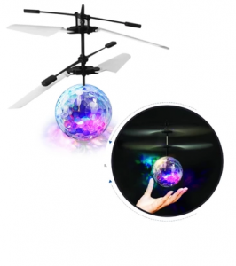 Crystal ball glowing touch Flying Flying Ball