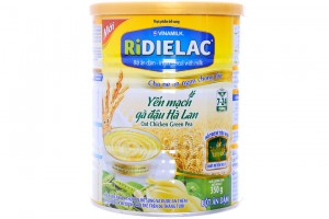 Ridielac Infant Cereal Oat Chicken Green Pea