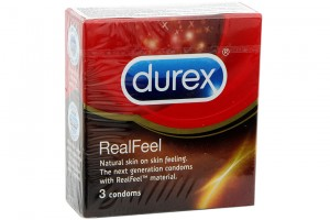 Condom Durex Real Feel 56mm (Box 3 pcs)