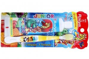 Raiya Toothbrush Mix Fruit Flavor 75g