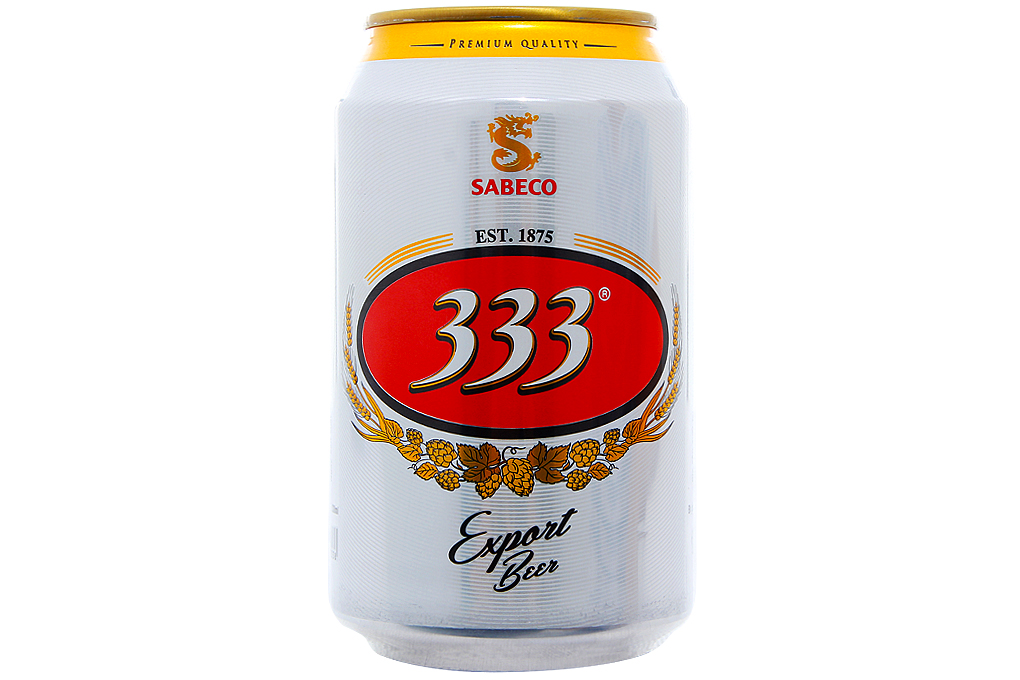 333 Beer Can 330ml