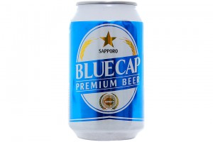 Beer Sapporo Blue Cap Can 330ml