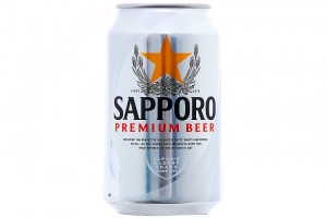 Beer Sapporo Can 330ml
