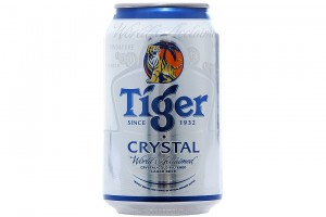 Beer Tiger Crystal Can 300ml