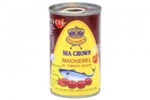 Sea Crown Mackerel In tomato Sauce 155g