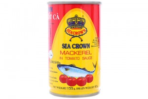 Sea Crown Mackerel In Toamto Sauce 155g