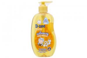 Shampoo Dnee Yelow Bottle 400ml