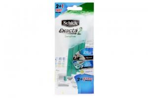 Schick Exacta Sensitive 2 + 1 free razor