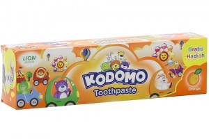 Kodomo Kiddy Orange Flavor 45g Toothpaste