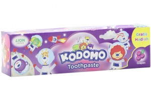 Kodomo Grape Strawberry Flavor 45g Toothpaste