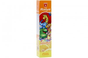 Raiya For Kiddy Orange Flavor 75g Toothpaste