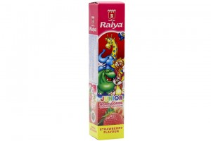 Raiya For Kiddy Strawberry Flavor 75g Toothpaste