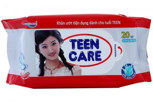 Wet Tower Teen Care Red 20 pcs (15x20cm)