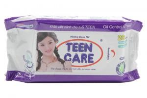 Wet Tower Teen Care Purple 20 pcs (15x20cm)