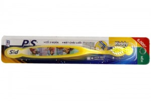 P/S toothbrush for kiddy