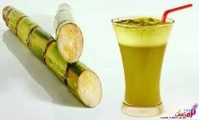 Frozen sugarcane juice