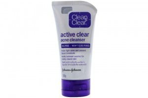 Active Clear Acne Cleanser Oil Free Won't Clog Pores 50g