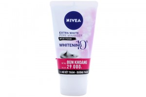 Nivea Extra White Pore Minimiser Mud Foam Whitening 50g
