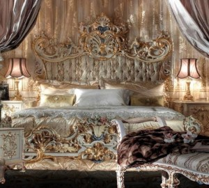 Sophisticated classic bed G89A-1