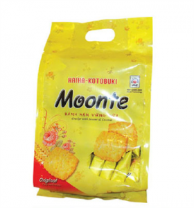 Moonte Cracker With Sesame and Coconut 230gr