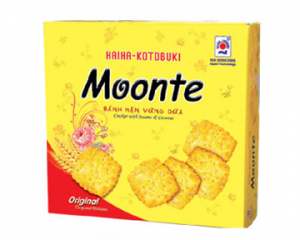 Moonte Cracker With Sesame and Coconut 240gr